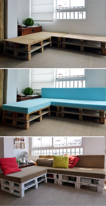 palettenmöbel selber bauen bastelideen bett aus paletten paletten bett