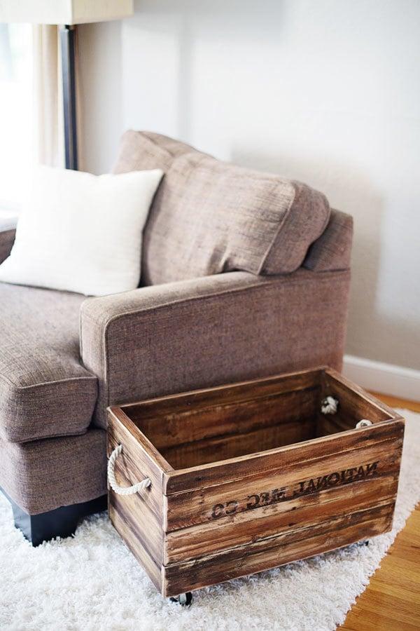 palettenmöbel selber bauen ideen bastelideen kasten aus paletten