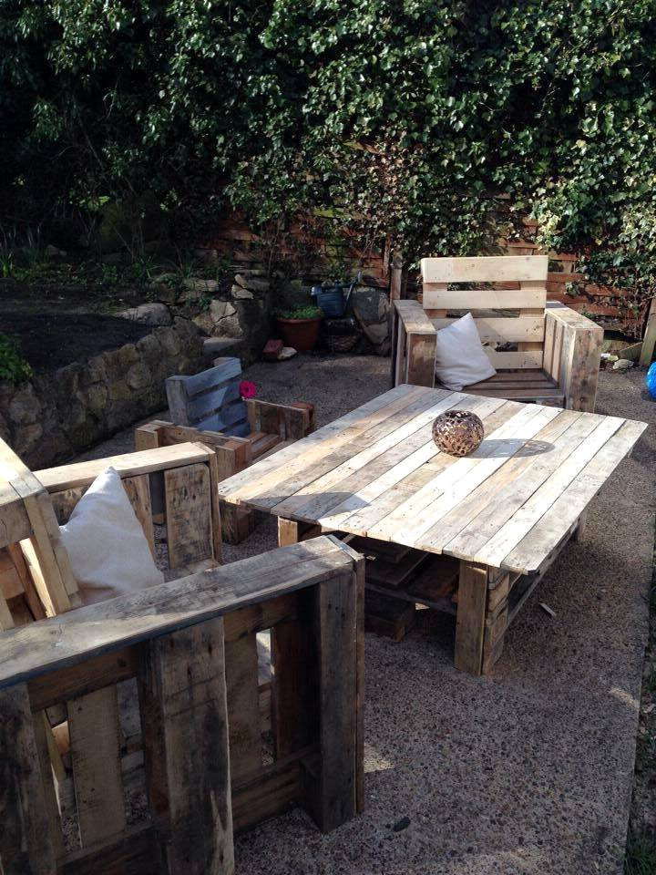 palettenmöbel selber bauen tisch aus paletten gartenmöbel aus paletten