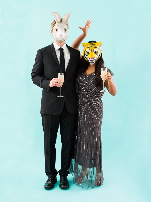 party karneval kostüm fasching ideen tier masken coole accessires einfache faschingsverkleidung