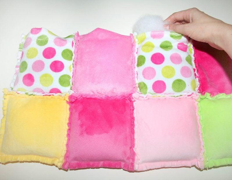 patchworkdecke selber naehen rag