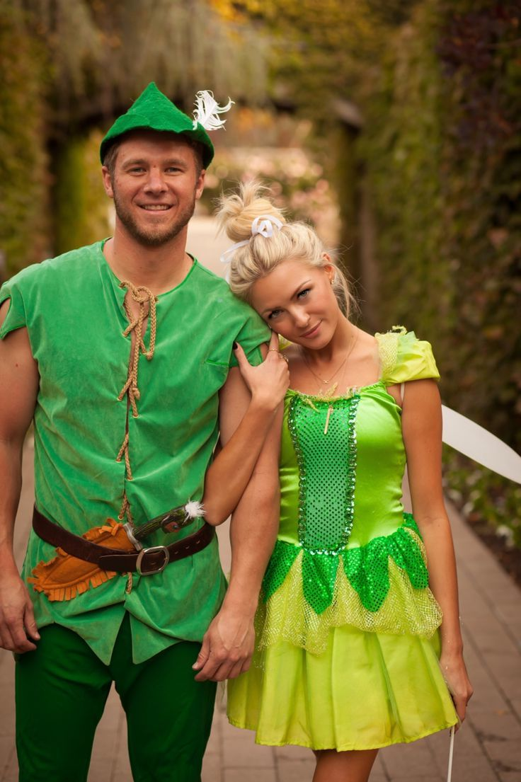 peter pan tinker bell kostüme für zwei verkleidung karneval themen kostüm laden