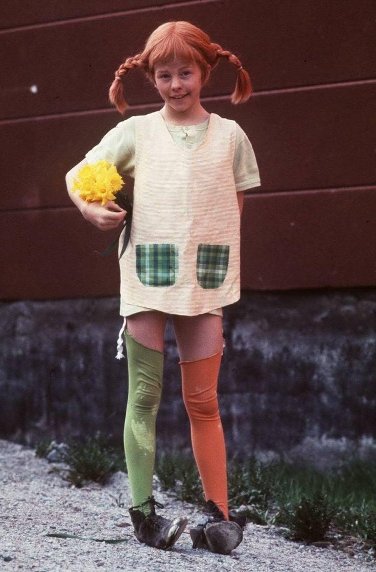 So machen Sie Pippi Langstrumpf Kinderkostüm selber!