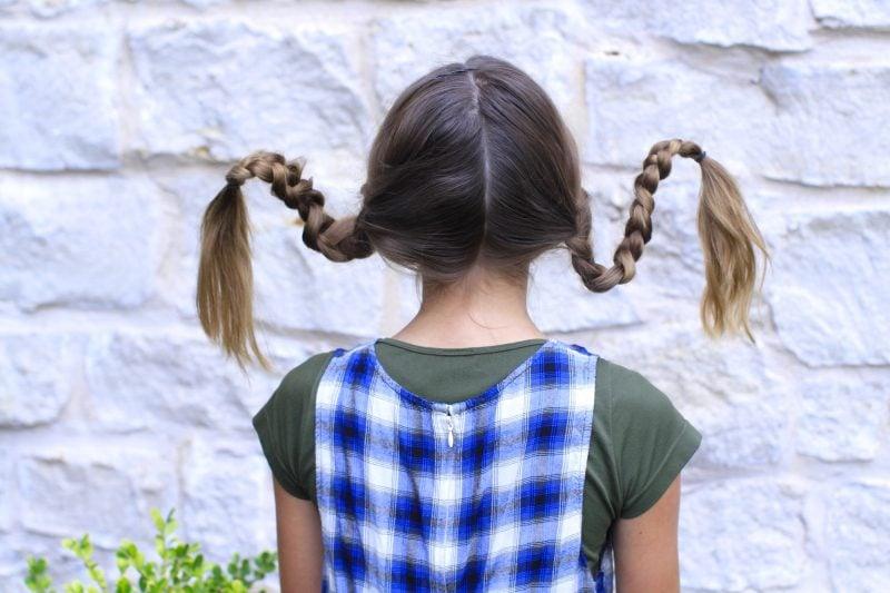 So einfach gelingen die Pippi Langstrumpf Zöpfe: DIY ANleitung