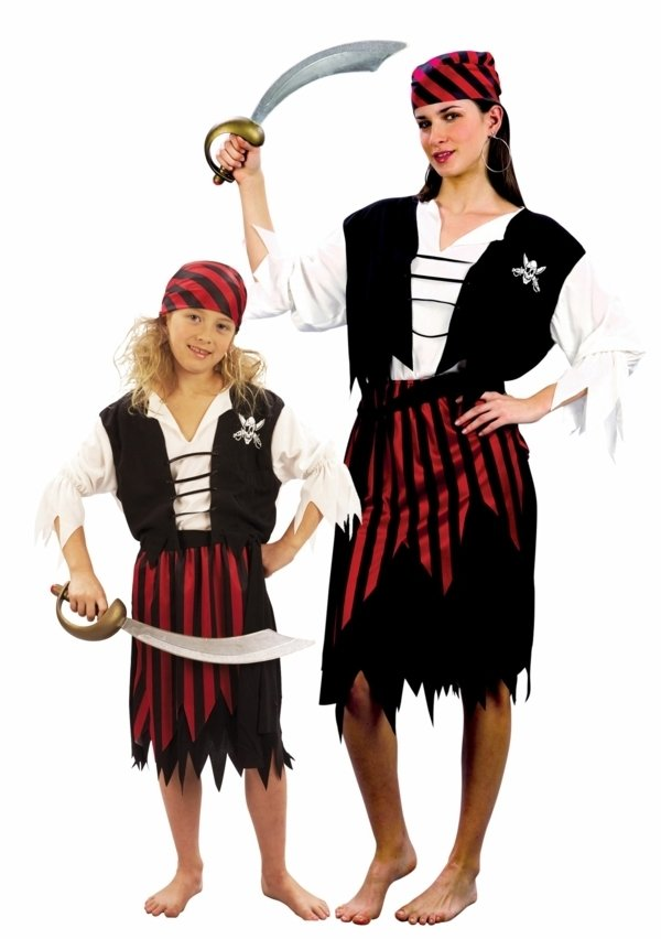 pirat gruppenkostüm kostüme für zwei fasching ideen
