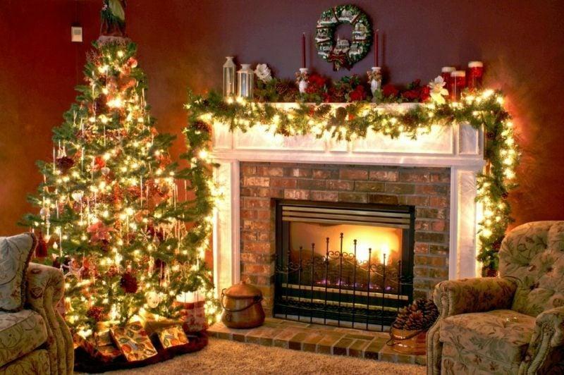 Weihnachtsdeko Ideen prunkvoll