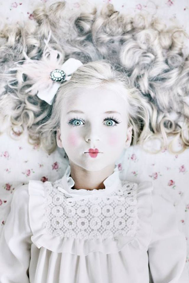 puppe karneval kostüm coole faschingskostüme verkleidung ideen kinder weiß