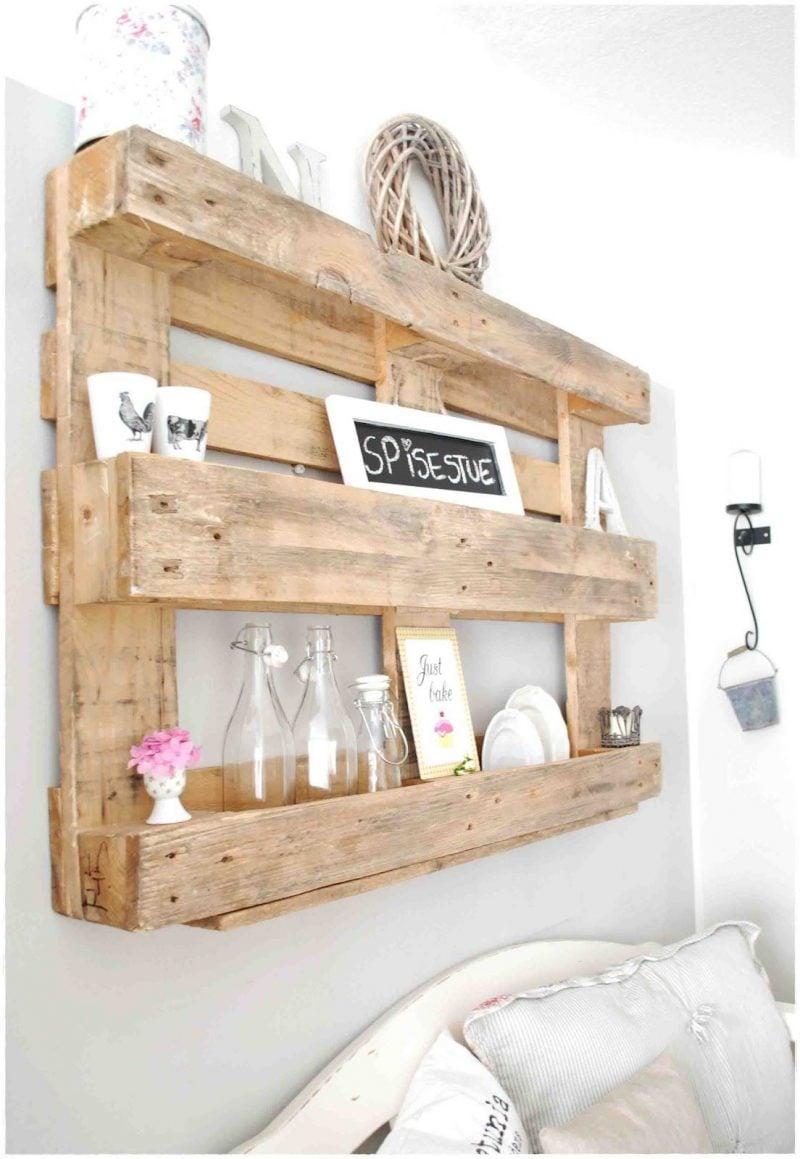 regal aus paletten selber bauen schlafzimmer einrichten bastelideen palettenmöbel