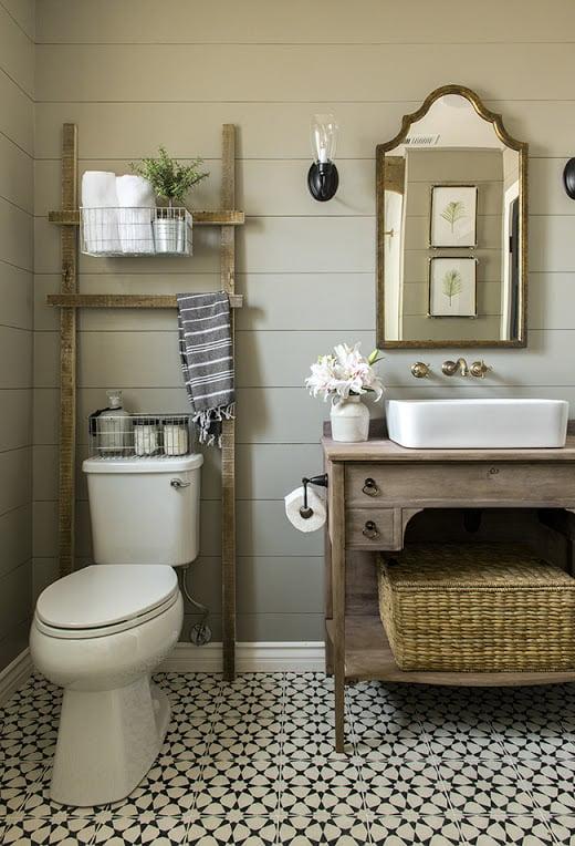 rustikale badezimmer ideen kreative bad ideen
