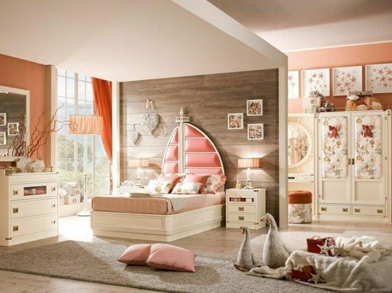 Schlafzimmer einrichten maritime Möbel