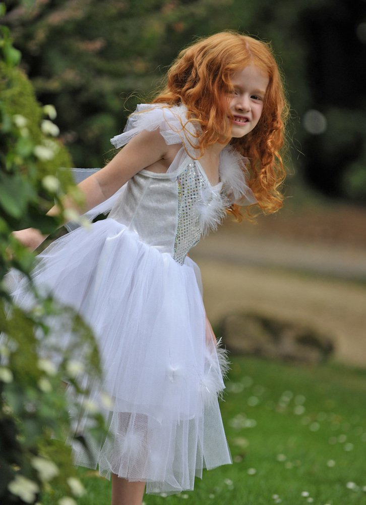 schneeflocke kostüm kinder weiß fasching ideen einfaches kostüm karneval