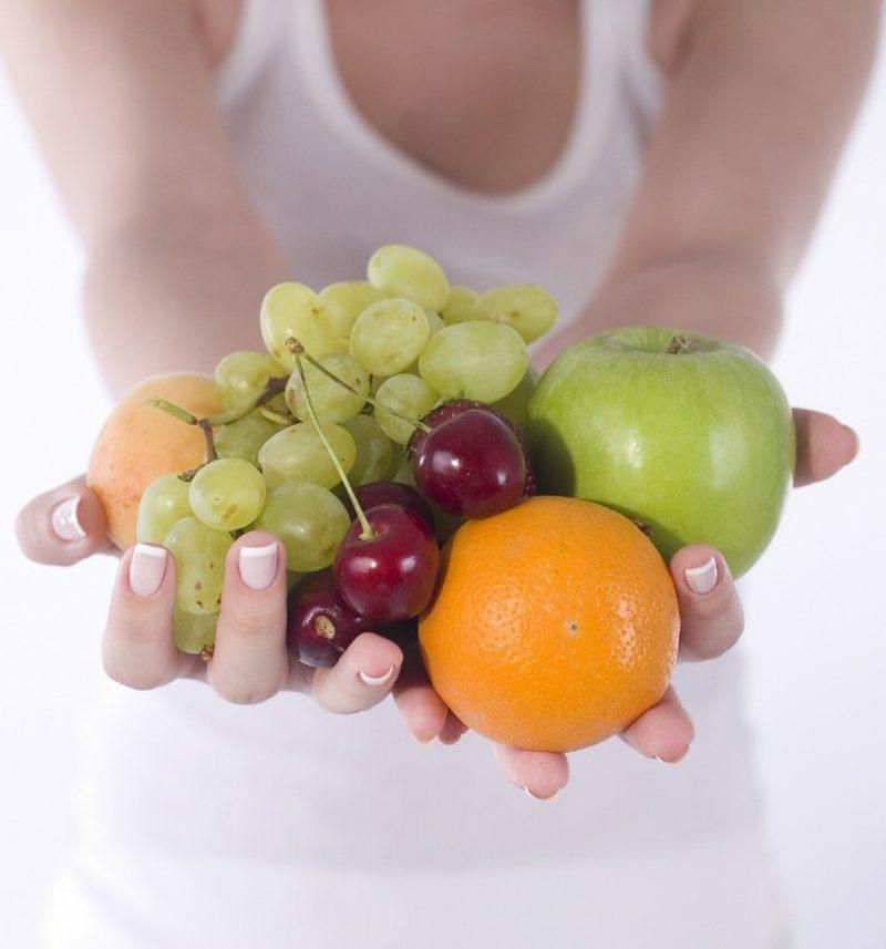 Ernährungsregime Abnehmen viel Obst essen