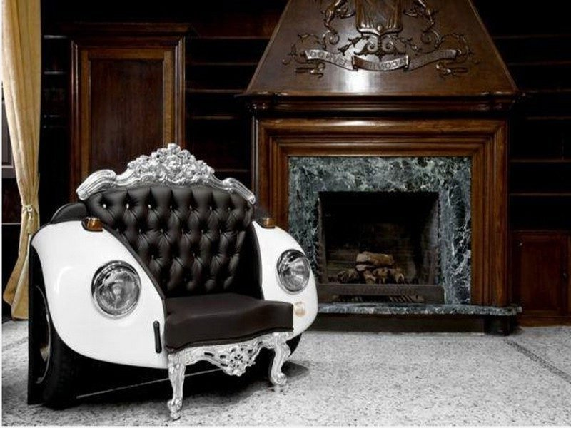 recycling m bel aus autoteilen 46 super kreative ideen innendesign m bel zenideen. Black Bedroom Furniture Sets. Home Design Ideas
