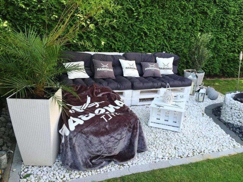 stilvolle paletten möbel weiß tisch aus paletten gartenmöbel aus paletten