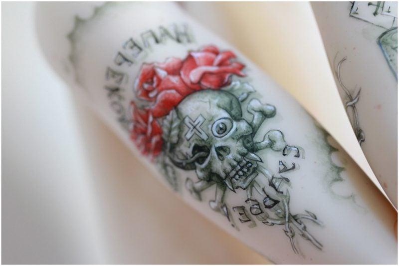 tattoo ideen totenkopf coole tattoos männer