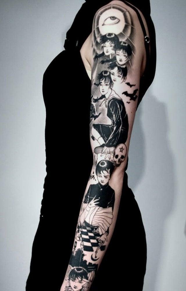 Unterarm frauen tattoo Tattoo Unterarm