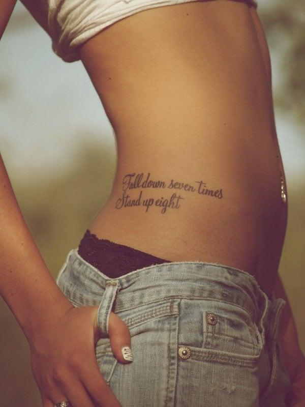 tattoo spruch schriften tattoos frauen coole tattoo ideen