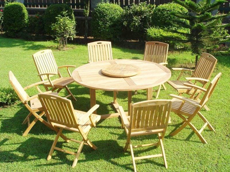 Hochwertige Gartenmöbel aus Teak: Pflegetipps für Ihre Gartenmöbel!