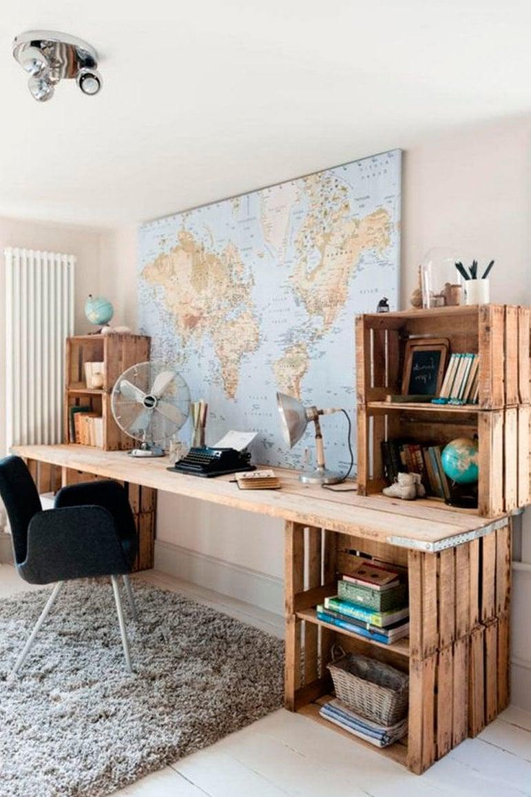 tisch aus paletten büromöbel aus paletten palettenmöbel selber bauen