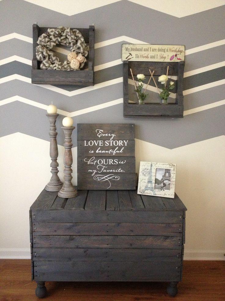 m bel aus paletten 105 fantastische ideen zum nachbauen diy m bel zenideen. Black Bedroom Furniture Sets. Home Design Ideas