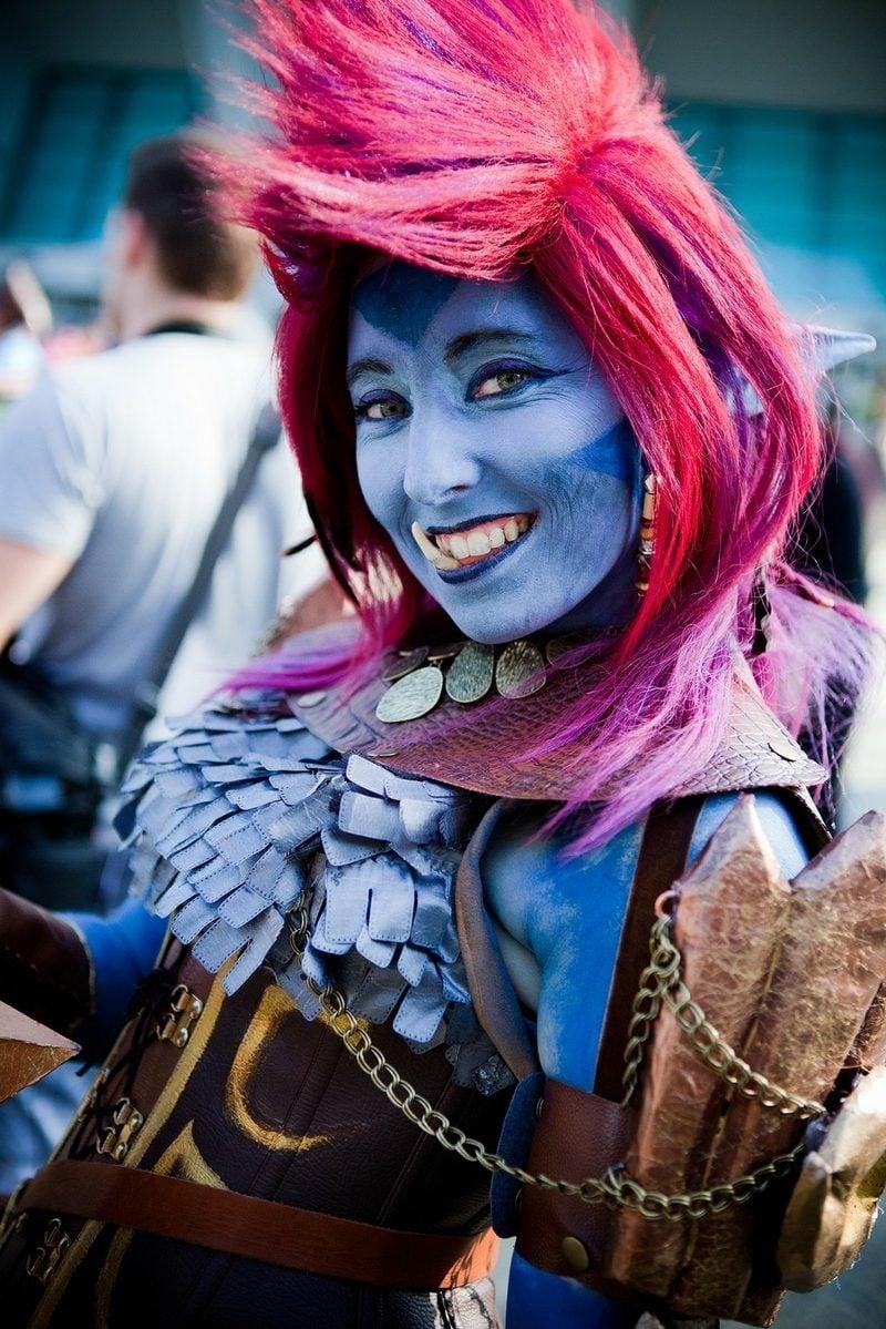 troll kostüm gaschingskostüme frauen altweiber kostüm fasching ideen fastnachtkostüm