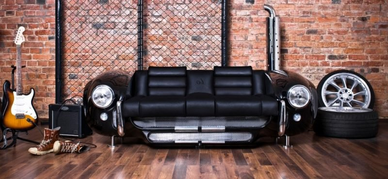 recycling m bel aus autoteilen 46 super kreative ideen. Black Bedroom Furniture Sets. Home Design Ideas