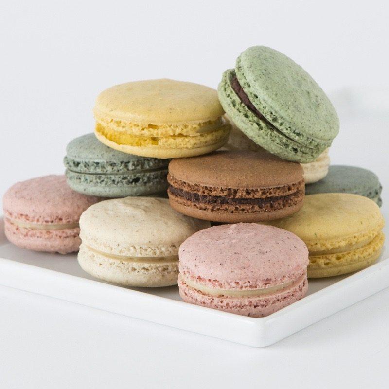 Warum nicht etwas Süßes zum Valentinstag? Valentinstag 2016 Macarons
