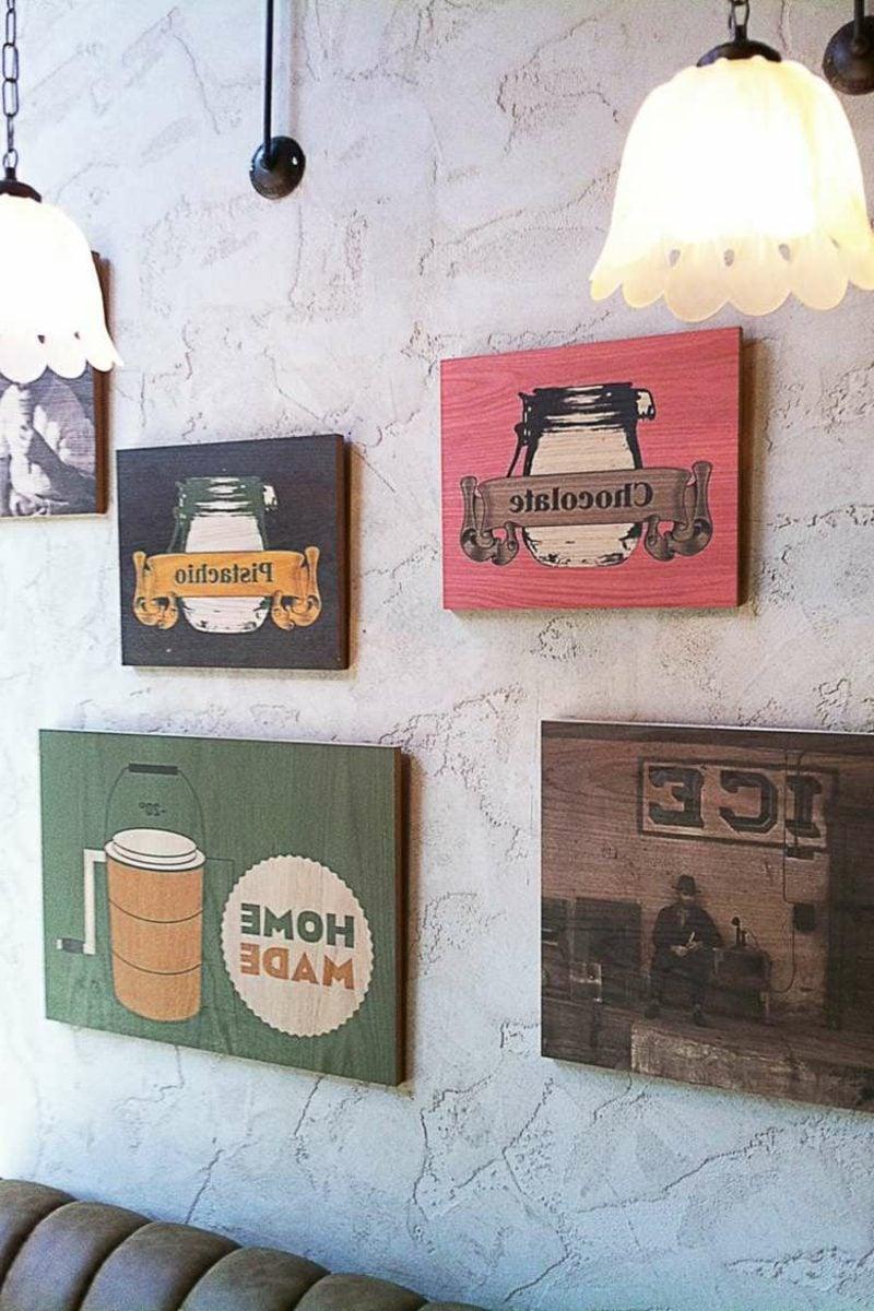 Dekorputz Retro Stil Cafe
