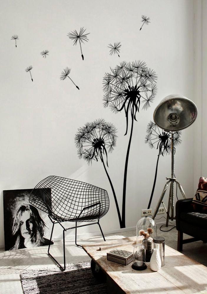 wandsticker wand dekorieren deko ideen wandgestaltung