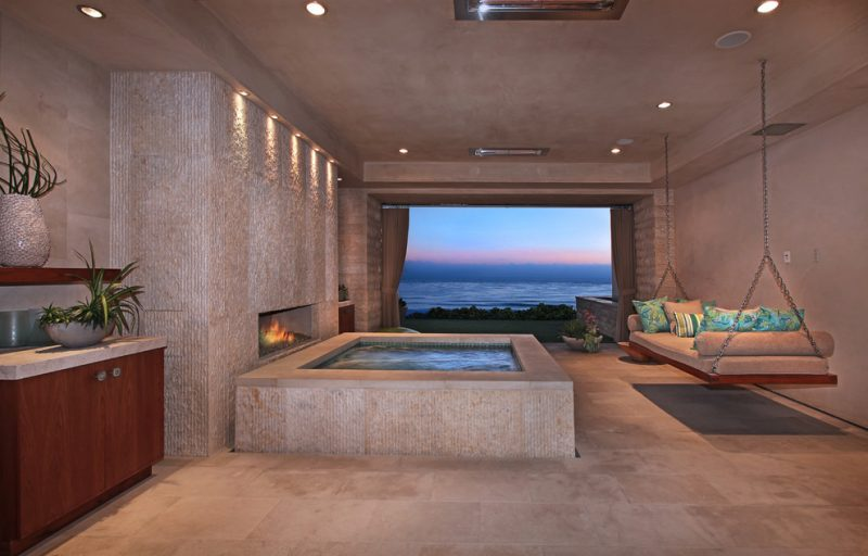 eigene wellness oase whirlpools f r haus und garten wellness spa zenideen. Black Bedroom Furniture Sets. Home Design Ideas