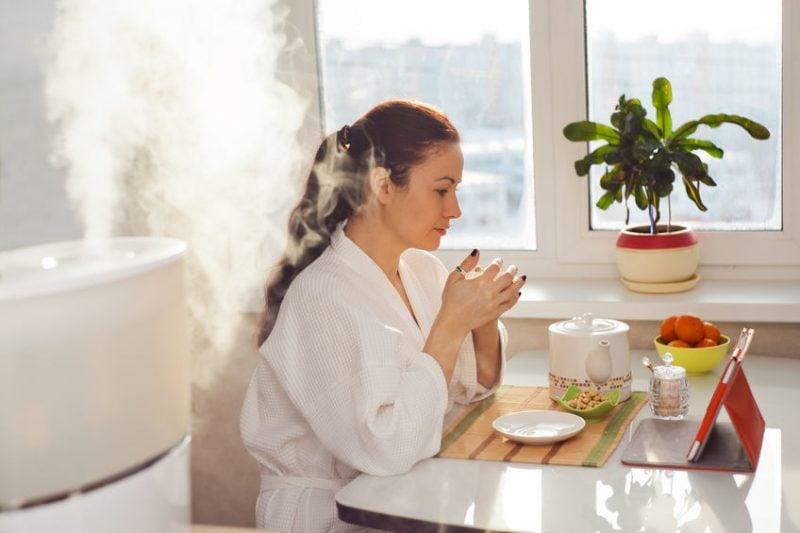 Wohlbefinden Optimale Luftfeuchtigkeit Wohnung