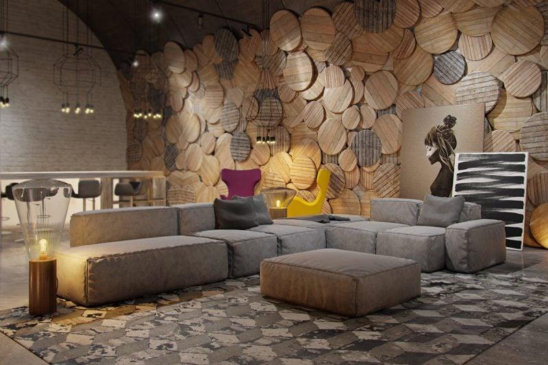 wohnzimmer dekorieren diy deko ideen wand flächen dekoration