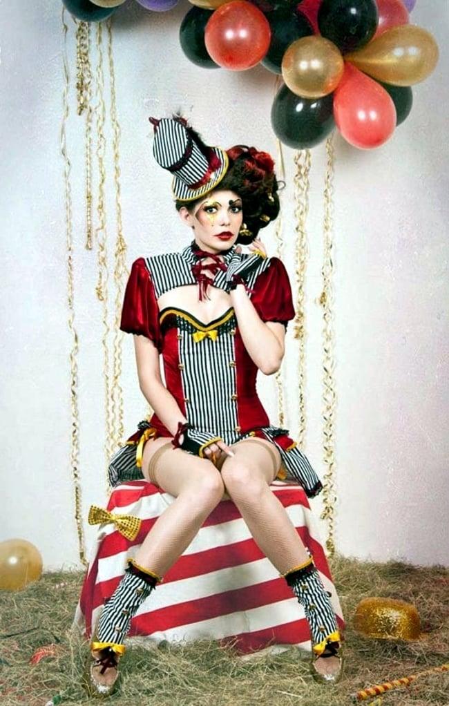 zirkus kostüm fasching ideen coole accessoires verkleidung altweiber kostüm