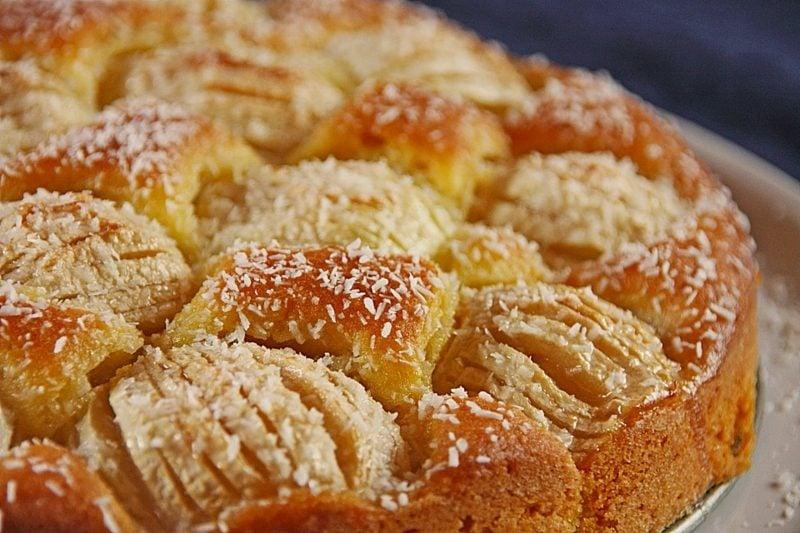 Kuchen ohne Zucker selber backen Apfelkuchen