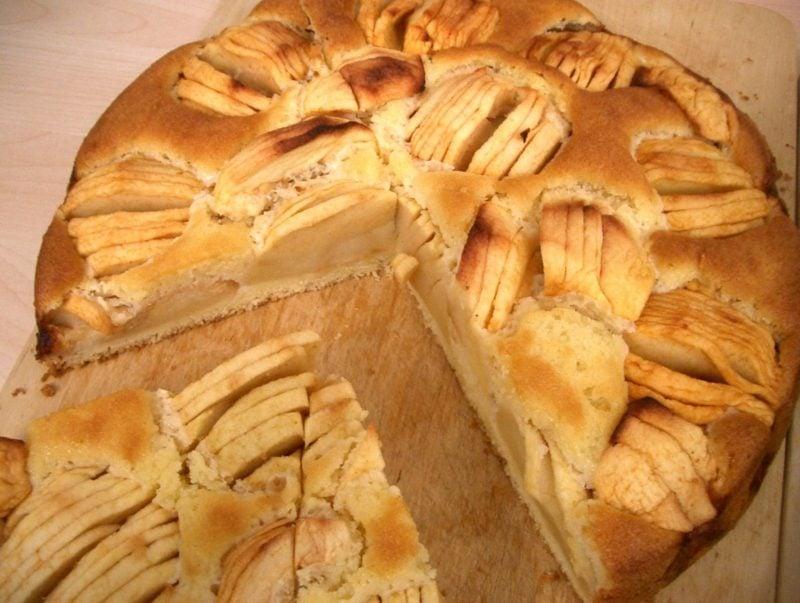 Kuchen ohne Zucker backen Apfelkuchen Rezept
