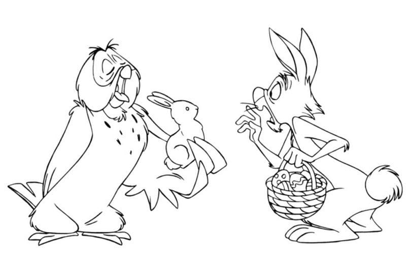 frohe Ostern Bilder Disney Helden