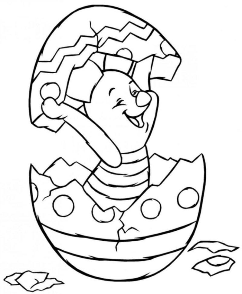 frohe Ostern Bilder kostenlos zum Ausdrucken Disney Helden