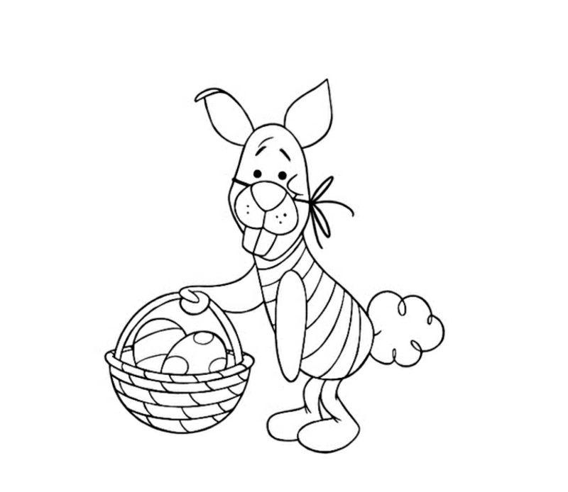 frohe Ostern Bilder kostenlos ausdrucken inspiriert von den Disney Filmen