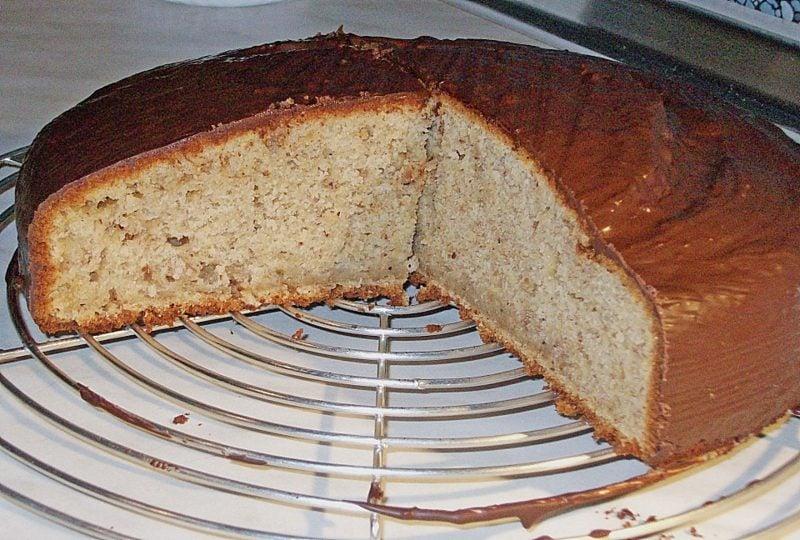 low carb Kuchen Bananen Rezept ohne Zucker
