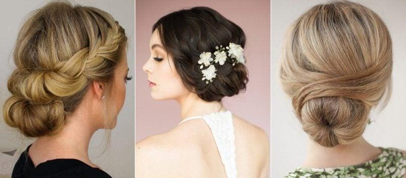 Hochsteckfrisuren Hochzeit Ideen für Brautjungfern