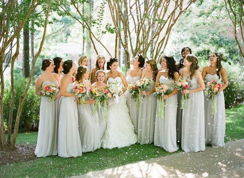 Hochzeitsfrisuren kreative Ideen für die Brautjungfern