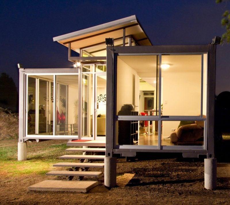 Haus kaufen modernes Containerhaus