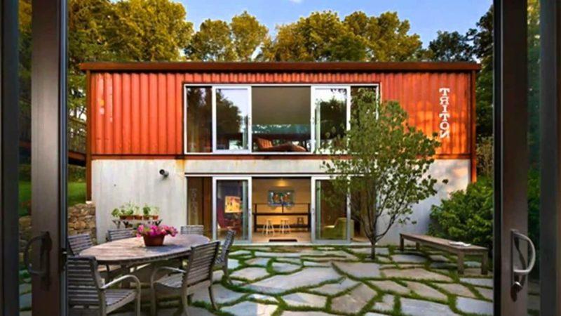 Haus kaufen unterschiedliche Typen Containerhaus