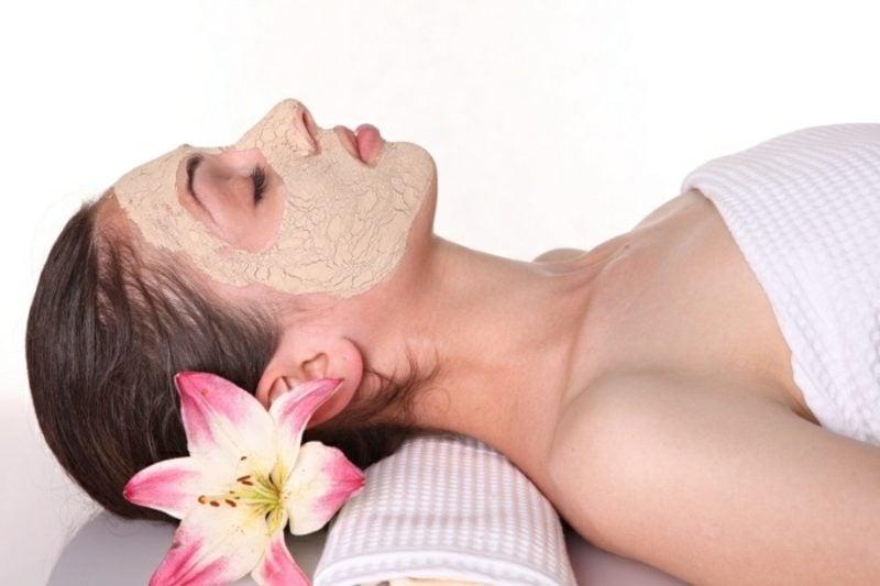 Gesichtsmaske selber machen Bananen sensibile Haut