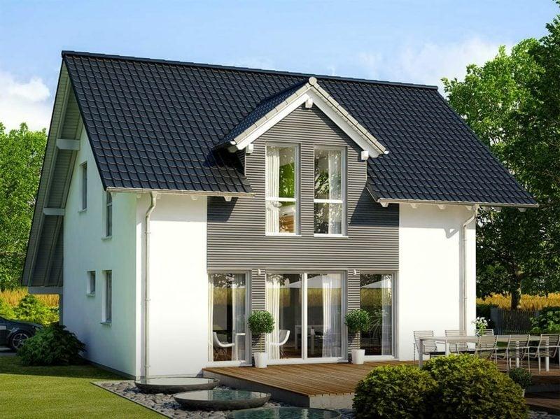 moderne Häuser Architektenhaus gross herrlicher Look