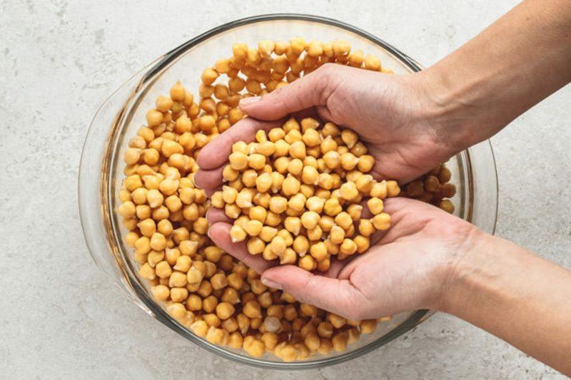 Falafel Rezept Zutaten Kichererbsen