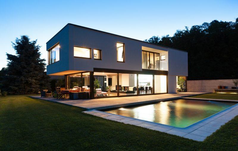 Häuser kaufen modernes Fertighaus