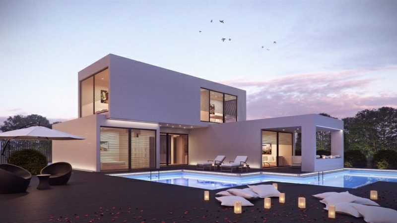 Häuser kaufen moderne Architektur Fertighaus