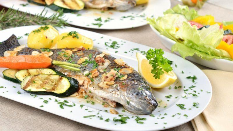 low carb Lebensmittel Fisch