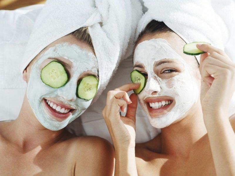 Masken selber machen Rezepte Quark und Zitrone Mischhaut